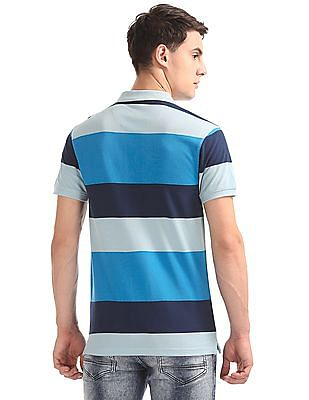 Ruggers Regular Fit Striped Polo Shirt