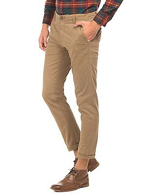 U.S. Polo Assn. Slim Fit Mid Rise Chinos