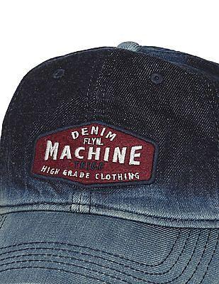 69a78a204074a7 Buy Men Washed Denim Cap online at NNNOW.com
