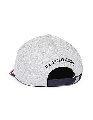 U.S. Polo Assn. Flag Print Panelled Cap