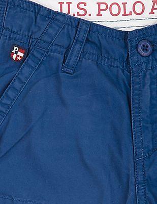 U.S. Polo Assn. Kids Boys Cotton Cargo Shorts