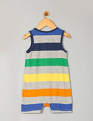 GAP Baby Multi Colour Print Tank Shorty One Piece