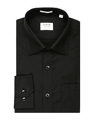 Arrow Regular Fit Striped Dobby Shirt