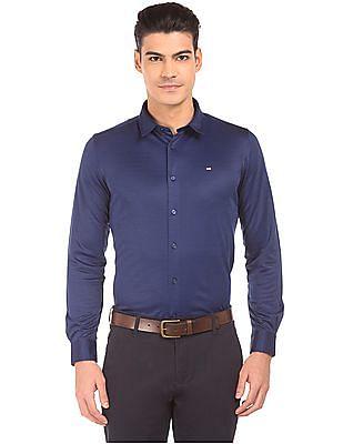 Arrow Sports Regular Fit Jacquard Shirt