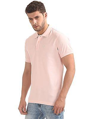 Izod Solid Slim Fit Polo Shirt