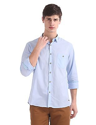 Cherokee Contemporary Regular Fit Poplin Shirt