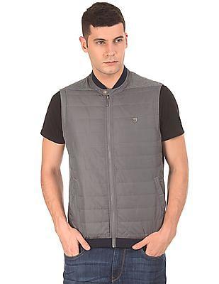 Arrow Sports Stand Neck Gilet Jacket