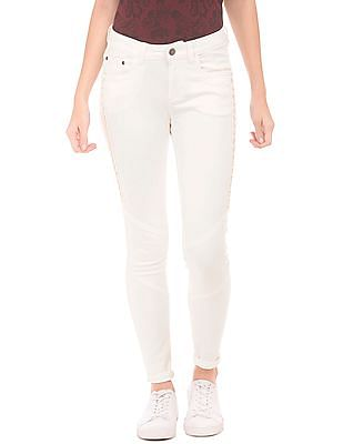 EdHardy Women Super Skinny Low Rise Jeans