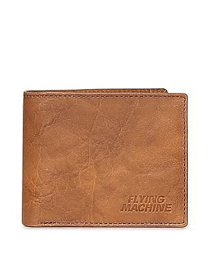 Flying Machine Bi Fold Leather Wallet