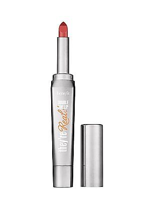 Benefit Cosmetics They're Real Double The Lip - Lip Stick And Liner In One - Nude Scandal