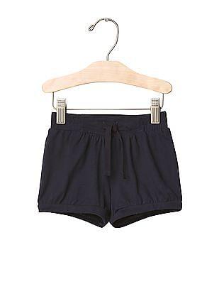 GAP Baby Blue Jersey Bubble Shorts