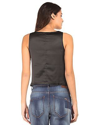 EdHardy Women Embellished Sleeveless Top