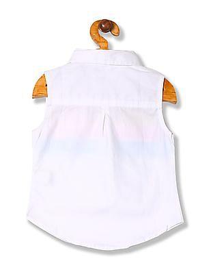 U.S. Polo Assn. Kids Girls Stripe Popover Shirt