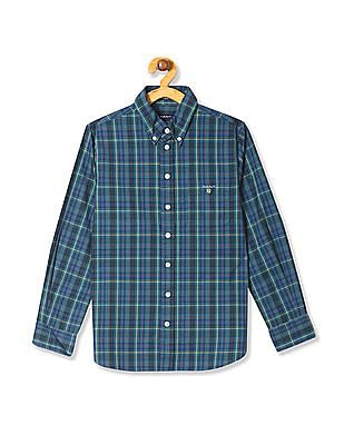 4bd9abc672c Buy Boys GBSEF0014 Me. Green Boys Shirt online at NNNOW.com