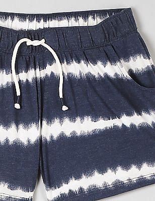 GAP Girls Tie Dye Drapey Shorts