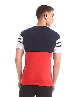 Colt Round Neck Striped T-Shirt