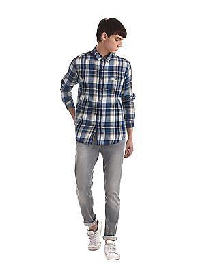 U.S. Polo Assn. Denim Co. Grey Regallo Skinny Fit Mid Waist Jeans