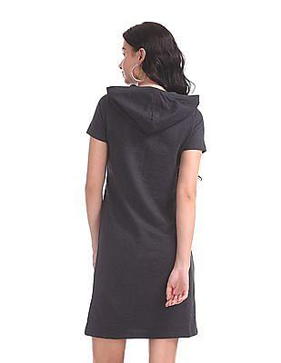 SUGR Hooded T-Shirt Dress