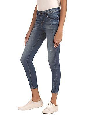 Cherokee High Waist Ankle Length Jeans