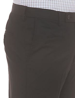 Arrow Mid Rise Tapered Fit Trousers