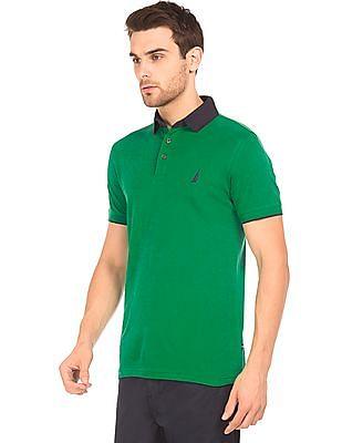 Nautica Slim Fit Short Sleeve Polo Shirt