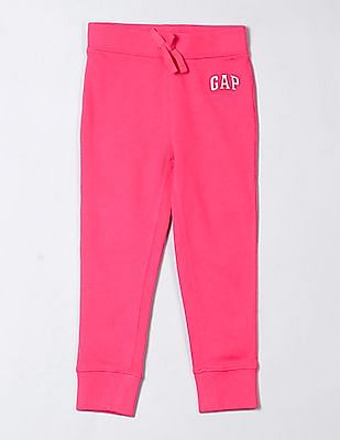 GAP Baby Solid Knit Track Pants