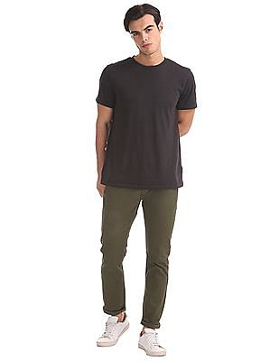 Flying Machine Flat Front Solid Trousers