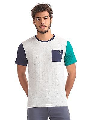 Colt Slim Fit Colour Blocked T-Shirt