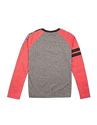 Cherokee Boys Raglan Sleeve Printed T-Shirt