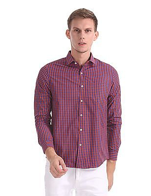 Excalibur Classic Regular Fit Check Shirt
