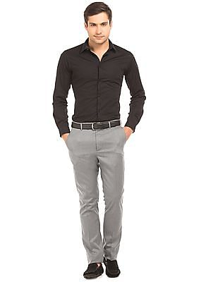 Arrow Autoflex Tapered Fit Trousers