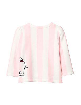 GAP Baby Disney Dumbo Striped Sweatshirt