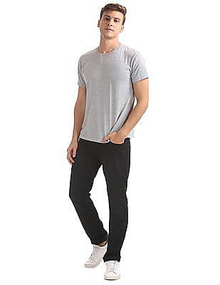 Aeropostale Skinny Fit Solid Trousers