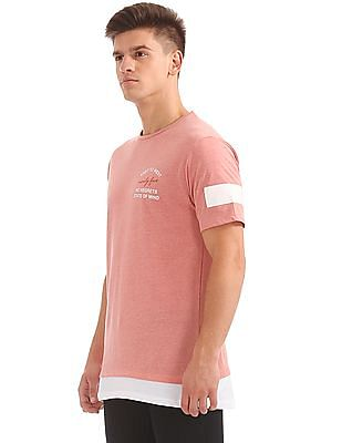 Colt Printed Longline T-Shirt