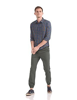 Colt Slim Fit Flat Front Jogger Trousers