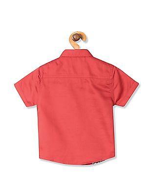 Donuts Boys Printed Short Sleeve Shirt