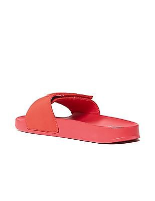 GUESS Velcro Strap Solid Slides