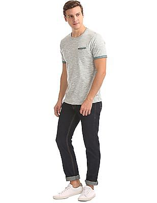 Cherokee Heathered Slim Fit T-Shirt