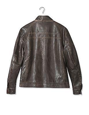 Ed Hardy Panelled Zip Up Jacket