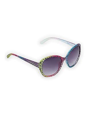 The Children's Place Baby Multi Colour Leopard Print Sunglasses