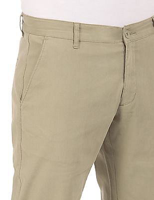 Roots by Ruggers Modern Fit Flat Front Chinos