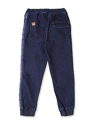 Cherokee Blue Boys Regular Fit Jogger Jeans