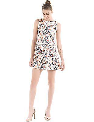 Elle Floral Print Shift Dress