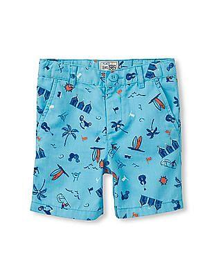 The Children's Place Toddler Boy Summer Print Woven Shorts