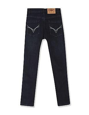 FM Boys Boys Side Tape Washed Jeans