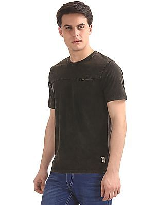 Cherokee Slim Fit Washed T-Shirt