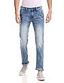 Flying Machine Michael Slim Tapered Fit Whiskered Jeans