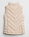 GAP Girls Beige Puffer Vest