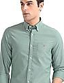 Gant Garment Wash Pin Point Slim Button Down Shirt