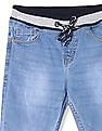 Cherokee Blue Boys Slim Fit Stone Wash Jeans